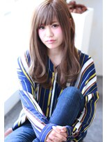 【Creo】メルティハイトーン#くびれセミディ#デザインカラー