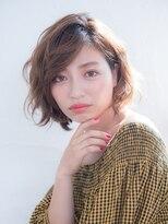 オーブ ヘアー リンク 葛西店(AUBE HAIR link)束感出やすいカラーのショートスタイル☆