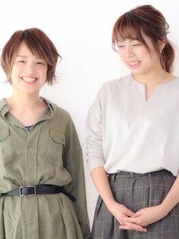 リット(Litt)の写真/【ヘアColor&CUTに定評♪】初めての方も安心してお任せ☆人気女性stylistがアナタを可愛くしてくれる♪