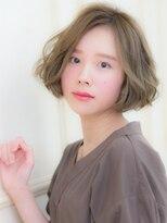 オーブ ヘアー ルル 京都四条通り店(AUBE HAIR lulu)ゆるウェーブボブ