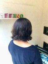 ヘアーメイク アフィーノ(hair make affino)くしゅくしゅパーマあ