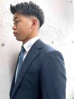 アイリーヘアデザイン(IRIE HAIR DESIGN)【IRIE HAIR赤坂】ビジネスマン×フェード×アップバング