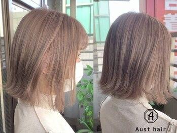 オーストヘアージール(Aust hair Zeal)の写真/【名駅徒歩1分★】ショートが可愛い季節が到来♪《高品質×HAPPYプライス》でこだわりの美フォルムが叶う◎
