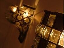 サロン ド ブリオ(SALON DE BriO)の雰囲気(照明にもサロンのこだわりを感じます☆)