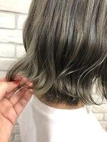 シュガー ヘアアンドネイル 仙台(SUGAR)オリーブ×グレージュWカラー☆透明感ゆるふわロング美的Style
