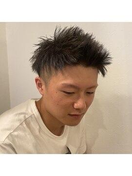 パーマ 短髪 ツイスト