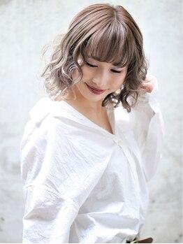 モナン 新宿(Monan)の写真/《新宿西口NEWOPEN☆》色持ち、艶、透明感のある外国人風カラーで狙い通りの色味をご提案♪