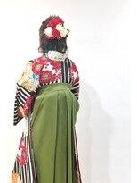 卒業式袴&ヘアセット