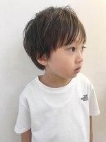 男の子 髪型 長め