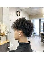 ツミキ ヘアーデザイン(TSUMIKI hair design)メンズソフトツイストパーマ