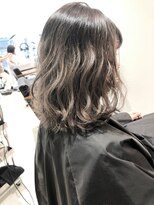 ラノバイヘアー(Lano by HAIR)【Lano by HAIR】 北村 亮  グラデーションネイビーカラー