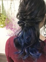 アゴーグ(agog) blue☆violet☆gradation