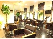 ルシェット(Lucet)の雰囲気(広々した空間に座り心地良いセット椅子!カットハーブカラー¥3400)