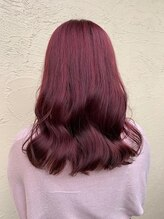 えぃじぇんぬヘア(Hair)しっかり発色のチェリーカラー