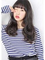 ヘアサロンガリカアオヤマ(hair salon Gallica aoyama)☆『 外国人風 & 毛束感 』無造作ロング ☆ セミウェット ☆
