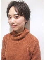 リタ(Lita)前髪長め ヘルシーレイヤー 柔らか 黒髪ショート
