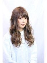 ヘアーモードケーティー 石橋店(Hair Mode KT)やわらかベージュ×インナーカラー×ロング