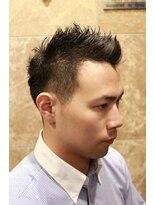 バルビエ グラン 銀座(barbier GRAND)男度UP!刈り上げモヒカンショート