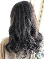 ヘアー リラクゼーション アンヴィ(Hair Relaxation anvi)アッシュベージュハイライト