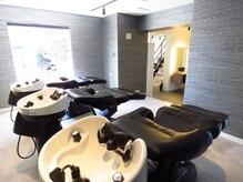 ミチオノザワヘアサロンギンザ 静岡店(Michio Nozawa HAIR SALON Ginza)の雰囲気(身体を包み込むフルフラットの最高級シャンプー台(ユメシャン))
