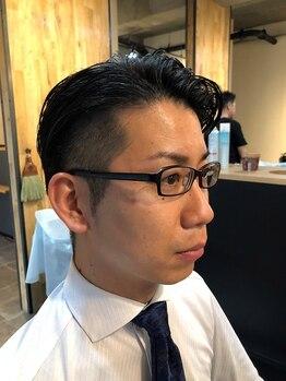 ヘアー クラブ エッジ(Hair club EDGE)の写真/《平日21時まで営業》お仕事帰りにも通えて嬉しい!カジュアルからビジネスマンスタイルまで幅広く対応◎