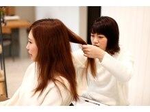 ☆髪質改善 美髪ヘアエステとNOダメージ感のイルミナカラーであなただけの艶髪を・・・☆