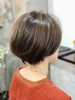 エトネ ヘアーサロン 仙台駅前(eTONe hair salon)30代からオススメのメリハリショートボブ