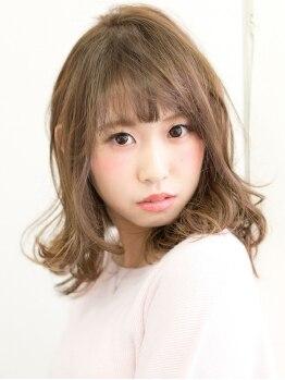 ヘアメイク ケシキ(Hair make Keshiki)の写真/高濃度美容成分フルボ酸を贅沢に使用したアミノチャージ。低ダメージで髪の内部から綺麗に発色♪