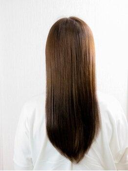 プチトール ヘアライフ(Petit×Tall HAIR LIFE)の写真/【アイロン技術に秘訣あり!】熟練STYLISTがさらふわストレートを造る♪