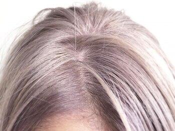 サロウィン 原宿(SALOWIN)の写真/【カット+Wカラー+TR¥15000~】豊富なアレンジで赤み/黄色みをカバー!透明感輝く外国人風hairが叶う♪