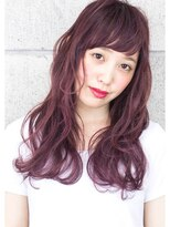 ヘアサロン ガリカ 表参道(hair salon Gallica)デザインカラー『 ラベンダーグレージュ 』外国人風 semi-long☆