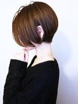 【morio池袋】黒髪大人可愛い小顔ショートボブ