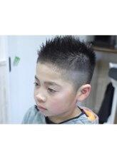 ヘアーショップホビー(hair shop Hobby)学校でモテモテ!キッズショート