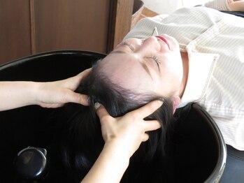 ヘアーメイク ヨーク(hair make yohc)の写真/女性スタイリストによる、話題の「DUCK SPA」で、思わず眠ってしまうほどの癒しなひとときを…♪