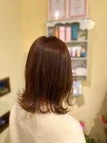 ヘアーメイク アフィーノ(hair make affino)外ハネSTYLE