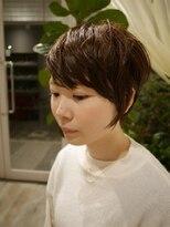 ヘアー カラー キー(HAIR color KEY)エッジィショート<NO.3>