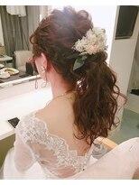 【Beautysalon welina】ブライダルヘア