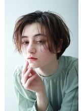 ペィジバイネオリーブ(Paige by Neolive)【Neolive吉祥寺】くびれショート×ニュアンスハイライト