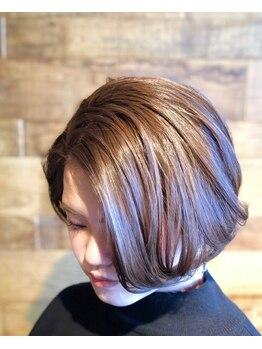 ブロス ザ ヘアー(bros.THE HAIR)の写真/ショートスタイルならbros.THE HAIR。骨格や髪質を見極め、絶対的に美しいシルエット&大人可愛さを演出★