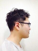 ポッシュ 門前仲町(HAIR&MAKE POSH)Men'sスタイル(くせ毛を活かしたスタイル)