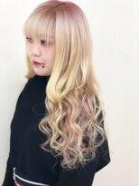 Pink×Purple#エクステ#京都#グラデーションカラー