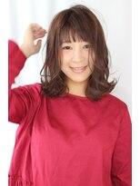 ジル ヘアデザイン ナンバ(JILL Hair Design NAMBA)【大人可愛いミディアムボブ】外はねミディアムボブ☆