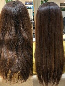 ユリエス(JU.LI.S)の写真/あなたのお悩みに寄り添うサロン*髪質に合わせたケアで今までにない最高の艶髪を!【髪質改善/南柏/柏】
