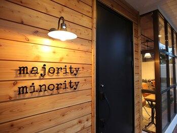 マジョリティーマイノリティー(majority minority)の写真/【新規限定】カット+透明感カラー+4stepトリートメント ¥11880→¥7560
