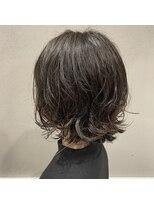 フェン ヘアーアイス(Fen.hair ici)成人式後イメチェンボブ デジタルパーマ