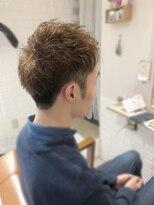 ルルカ ヘアサロン(LuLuca Hair Salon)LuLucaお客様☆スナップ メンズカラースタイル