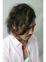 【GRANDE】ふわふわパーマ風☆ミディアムレイヤー