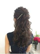 ディティカ(Dityca...hair&make)ボリュームハーフアップ