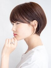 ムルチュラ(muruchura)ココアブラウンの大人かわいいセンシュアルショート 合田恵生