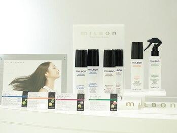 ピカソ こあら店の写真/今話題の『グローバルミルボン』取扱店☆髪に栄養を与え、艶めく美髪に。リピーター続出↑